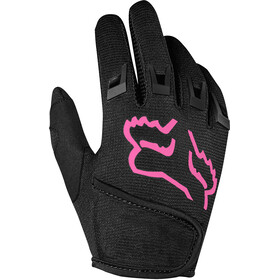 Fox Kids Dirtpaw Gloves Jungs black/pink